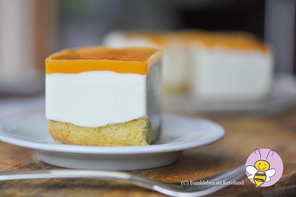 Fruchig-frische Mango-Joghurt-Törtchen