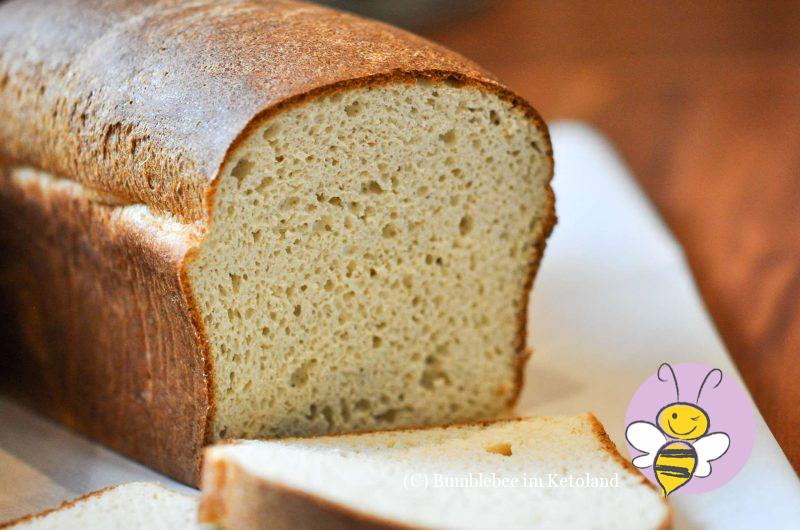 Keto Butter-Toastbrot