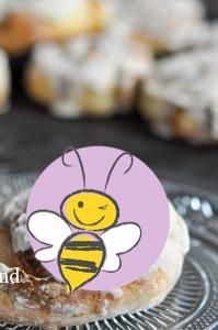 Ketogene Zimtschnecken von Bumblebee im Ketoland
