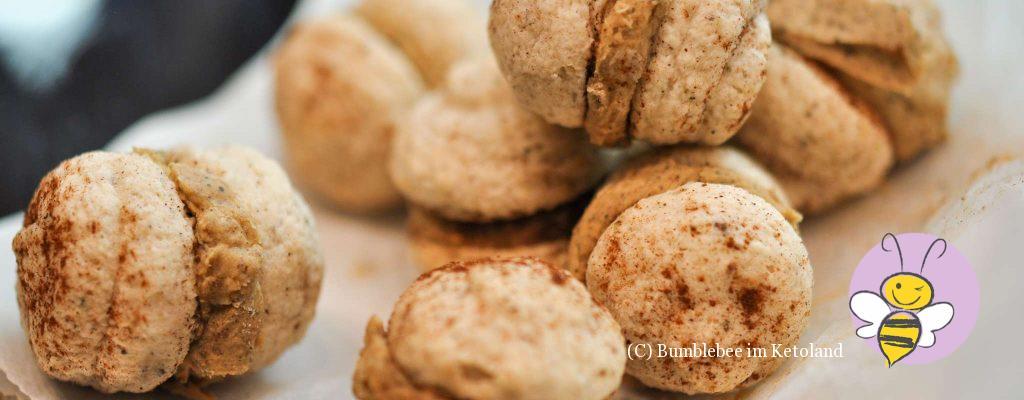 Ketogene Chai Macarons