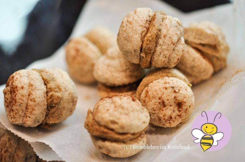 Chai Macarons ketogen