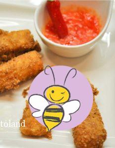 Mozzarellasticks mit Sweet Chili Sauce