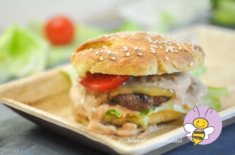 Weltbeste Keto Burger-Buns Fabuloso