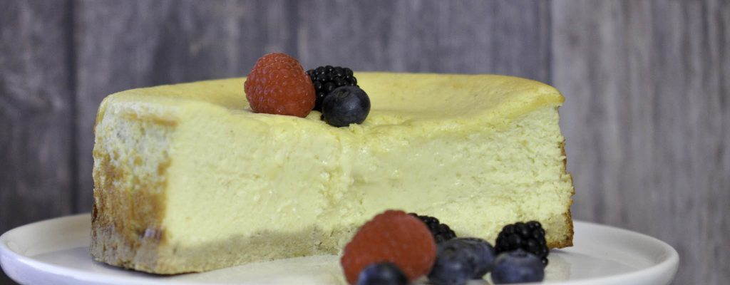 Ketogener New York Cheesecake Rezept von Bumblebee im Ketoland Low Carb
